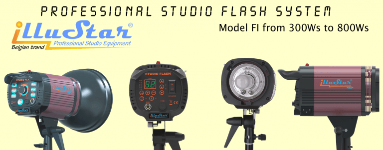 illuStar® Série FI Flash de Studio Professionels